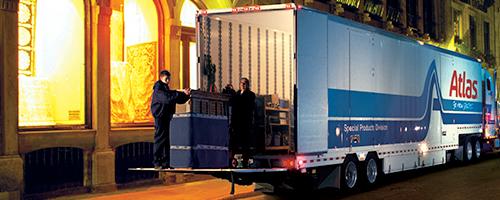 Padded Van Transportation Atlas Logistics