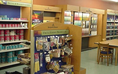 Benjamin Moore - Paint Store Display